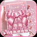 App Rose Gold Diamond Bow Theme APK for Windows Phone