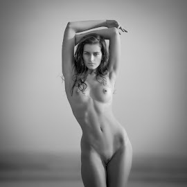 Polly by Andrey Stanko - Nudes & Boudoir Artistic Nude ( nude, b&w, naked, andrey stanko, beauty )