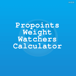 Propoints Weight Watchers Calc