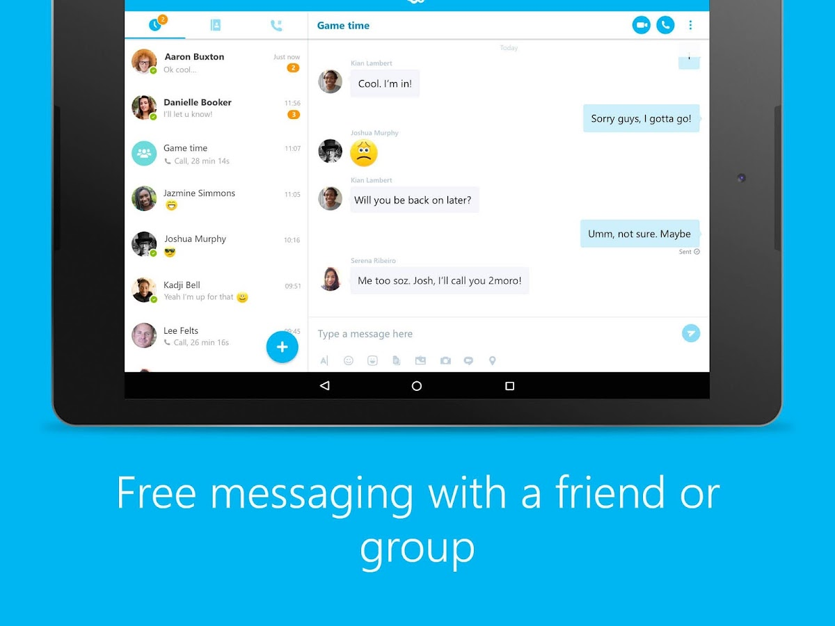 Skype - free IM & video calls Screenshot 10