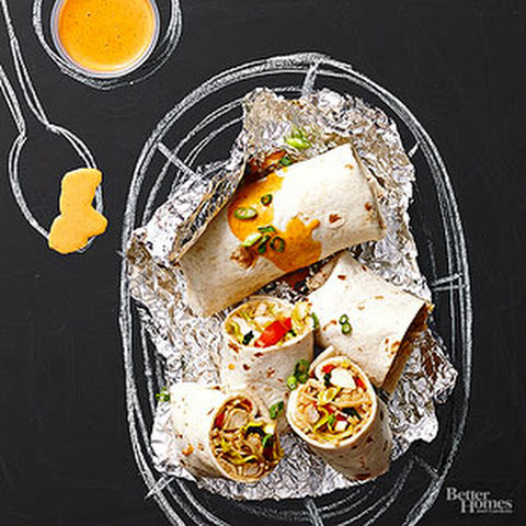 Pad Thai Chicken Burritos