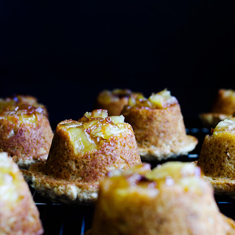 Recipe for Inverted Caramelized Apple Muffins