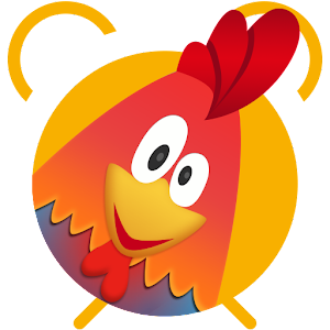 Rooster alarm clock Icon