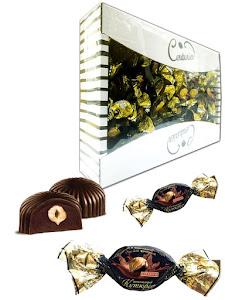 """Конфеты шоколадные """"Шоколадный кутюрье"""", цельный фундук, премиум, TV 1.5кг"""