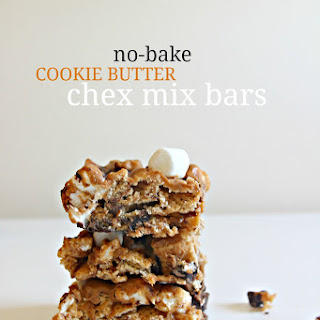 No-Bake Cookie Butter Bars
