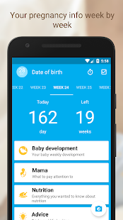 Pregnancy Tracker Week by Week screenshot for Android