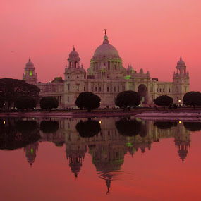 Victoria Memorial hall..Kolkata..India by Srabani Mitra - Buildings & Architecture Public & Historical ( victoria memorial )
