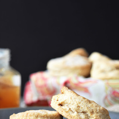 Healthier Homemade Vegan Biscuits