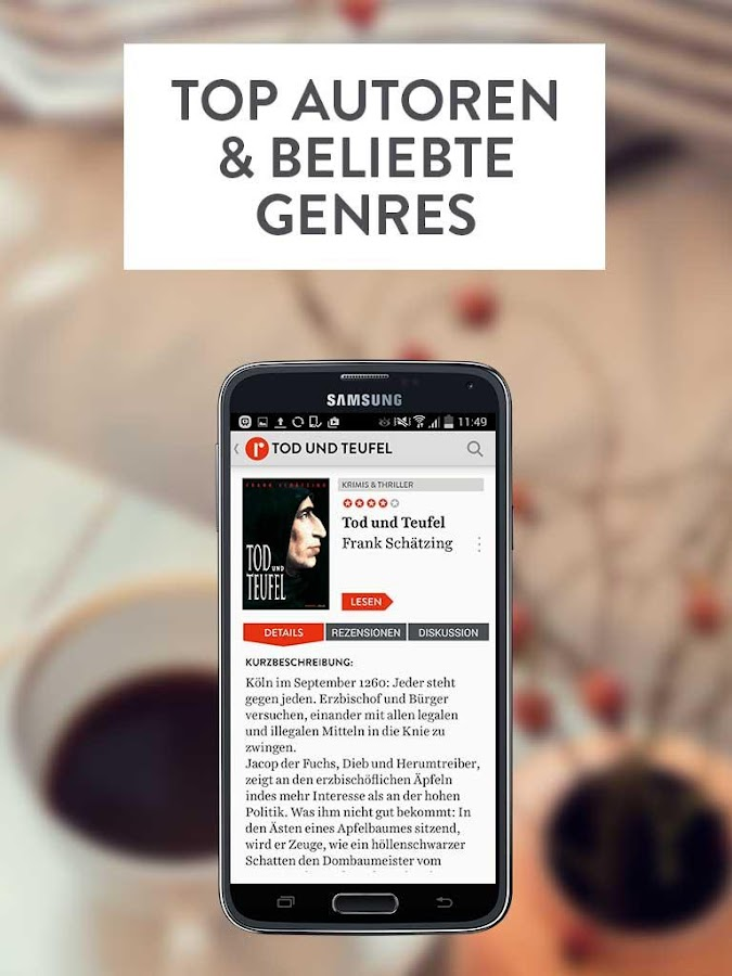 readfy - eBooks gratis lesen Screenshot 3