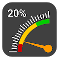 Gauge Battery Widget 2017 for Lollipop - Android 5.0