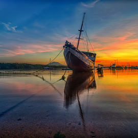 .:: twilight party ::. by Setyawan B. Prasodjo - Landscapes Sunsets & Sunrises