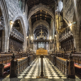 Newcastle Cathedral by Adam Lang - Buildings & Architecture Places of Worship ( st nicholas, arch, church, cathedral, newcastle )