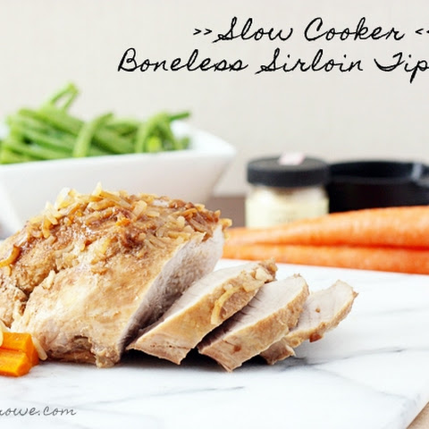 Slow Cooker Boneless Pork Sirloin Tip Roast