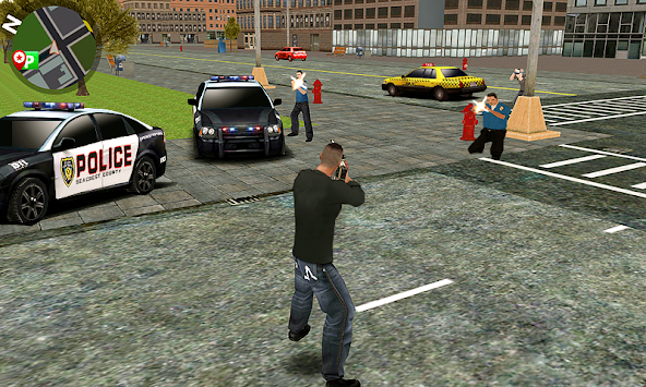 Vegas crime city apk screenshot
