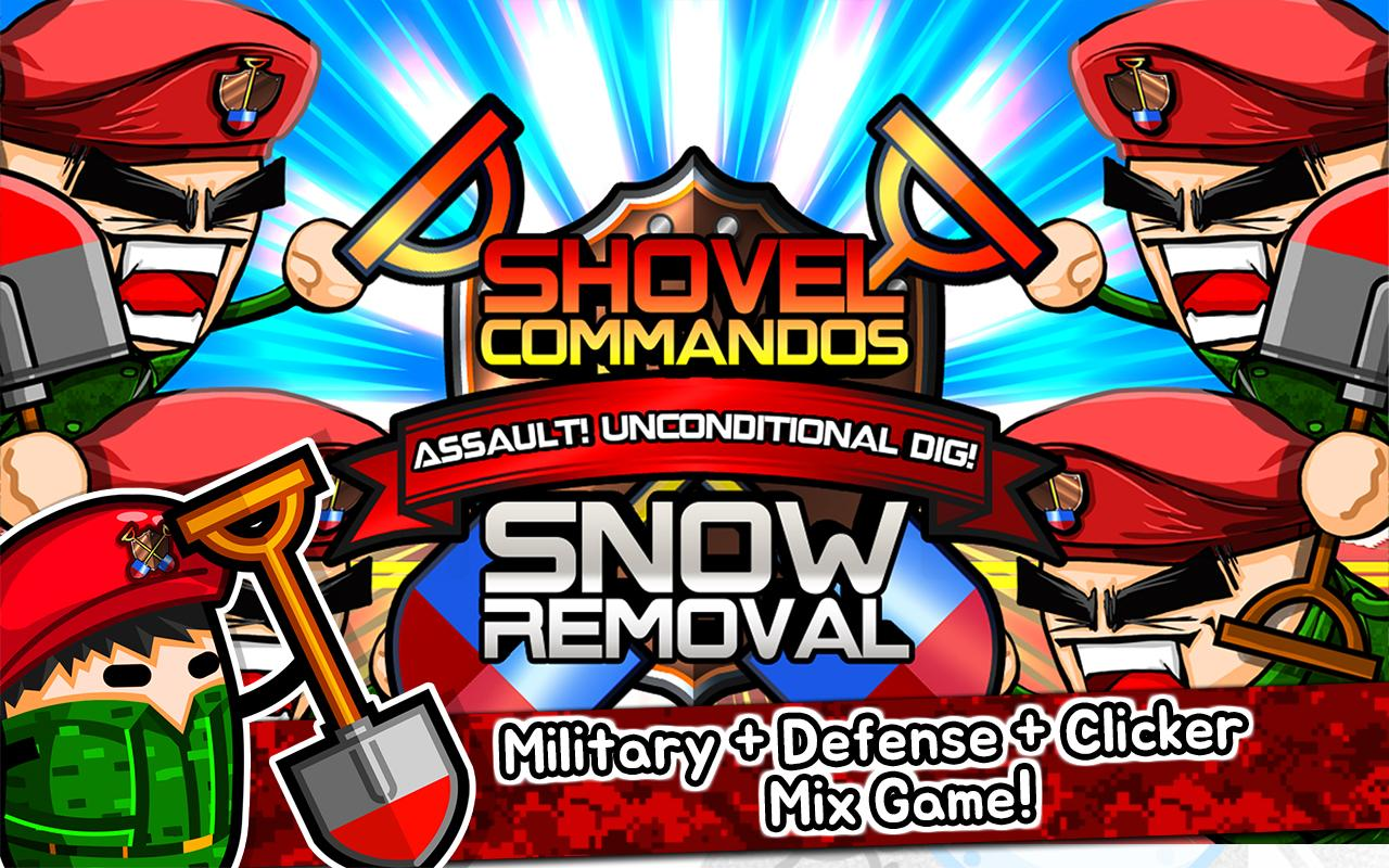 Shovel commandos 2 clicker Screenshot