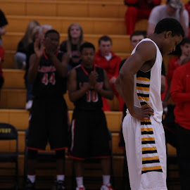 The Agony of Defeat  by Nathan Mannis - Sports & Fitness Basketball ( basketball, high school,  )