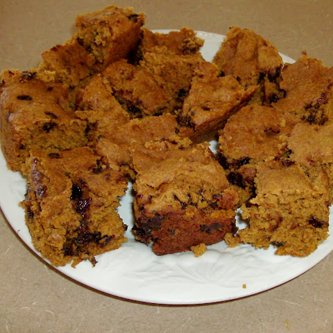 Chocolate Chip Pumpkin Bars in the Slow Cooker