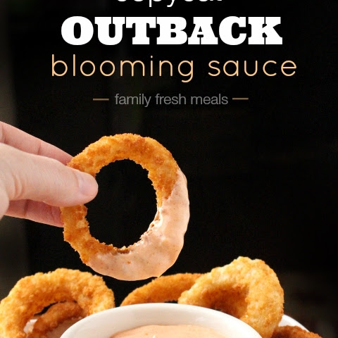 Copycat Outback Blooming Sauce