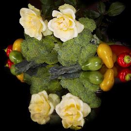vegetables with rose by LADOCKi Elvira - Food & Drink Fruits & Vegetables