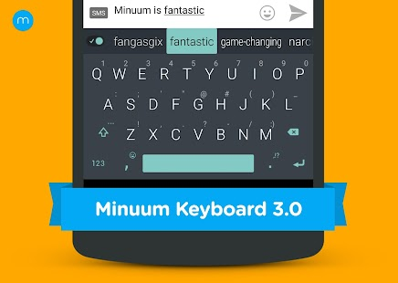 Minuum Keyboard + Smart Emoji for pc