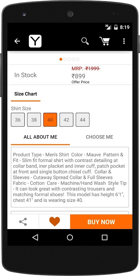 Yepme - Online Shopping App Screenshot 5