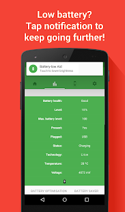 Battery Aid - Saver & Manager - screenshot