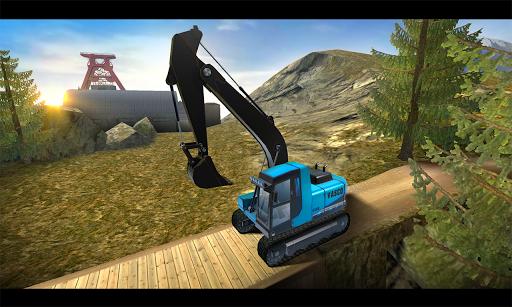 Construction Crane Hill Climb - screenshot