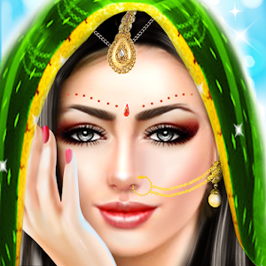 Indian Doll Wedding Fashion Makeup And Dressup For PC (Windows & MAC)
