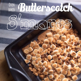 Oven Baked Butterscotch S'mores