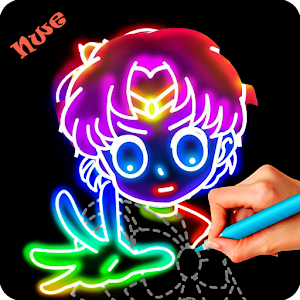Download Glow comics Draw For PC Windows and Mac
