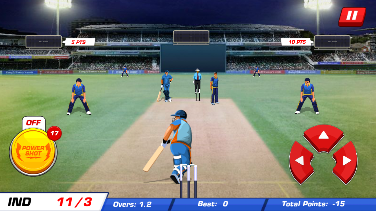 Power Cricket T20 Cup 2016 Screenshot 6