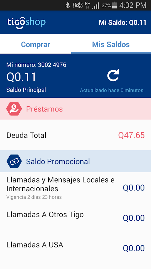 Tigo Shop Screenshot 13