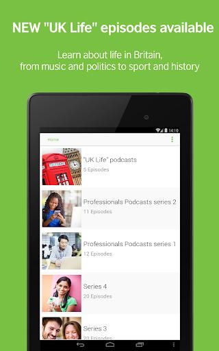 LearnEnglish Podcasts - Free English listening screenshot 6