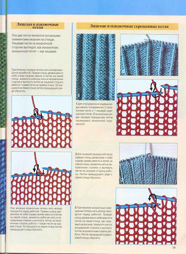 Вязаные шапки спицами и крючком со схемами и описанием 20