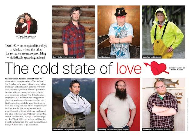 Alask Men for The Washington Post Magazine