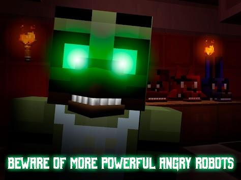 Nights at Cube Pizzeria 3D – 2 apk screenshot