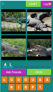 4 Pics 1 Animal - Alphabetical - screenshot