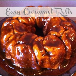 Caramel Rolls Butterscotch Pudding Recipes