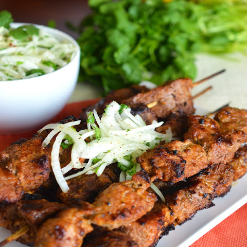 Tender Pork Kebabs- Shashlik