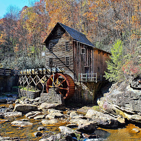 Fall In The Country by Lanis Rossi - Travel Locations Landmarks