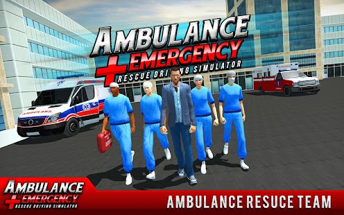 911 Ambulance City Rescue: Emergency Driving Game