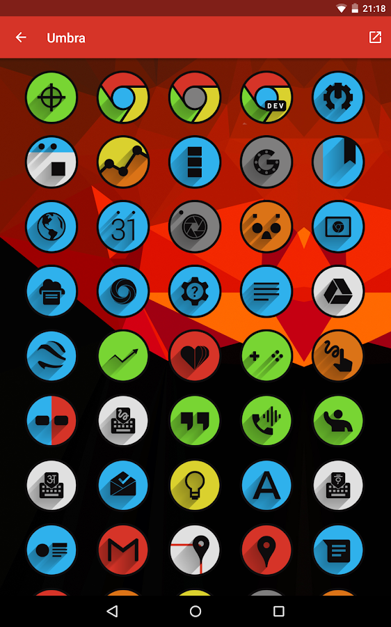 Umbra - Icon Pack Screenshot 11