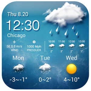 Free Weather Widget Android For PC