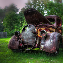 RustEze by Chris Cavallo - Transportation Automobiles ( rat rod, maine, rusty, rust, antique, old truck, abandoned, decay,  )