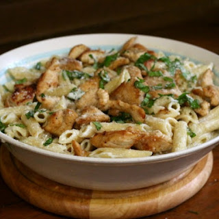 Grilled Chicken Alfredo that Beats Olive Garden