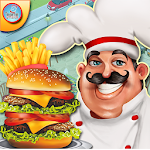 Fast Food Restaurant Cooking - Chef Cooking Games Icon