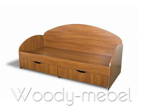 Детская мебель: Кровать