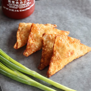 Crab & Cream Cheese Wontons