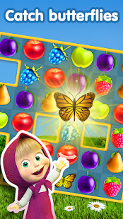 APK Game Masha and The Bear Jam Day Match 3 games for kids for BB, BlackBerry