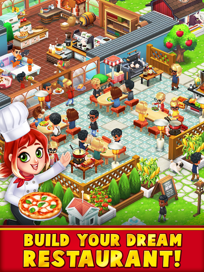 Food Street - Restaurant Management & Cooking Game Screenshot